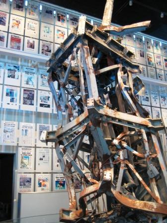 Remnant of a Twin Tower: Newseum, Washington, D.C.