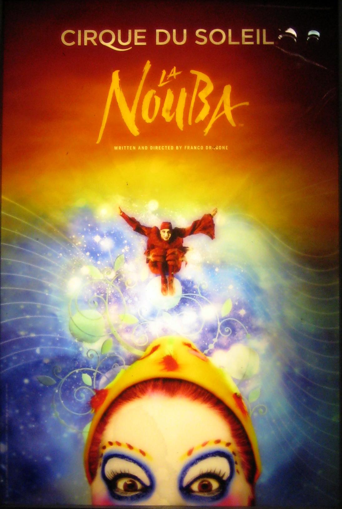 Incredible La Nouba at Walt Disney Resort