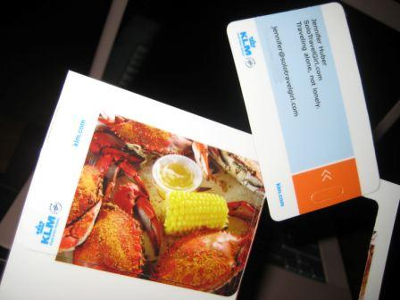 Free Luggage Tags from KLM Royal Dutch Airlines