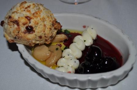Dinner Roll at Libby's Cafe, Sarasota, Fla.