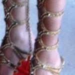 Leg Bondage on the Red Carpet