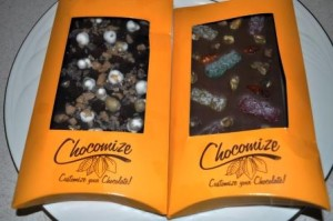 Chocomize Chocolate Bars