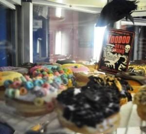Assortment at Portland's Voodoo Doughnut