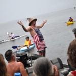 Charlotte Harbor Freedom Swim Organizer Michael Haymans