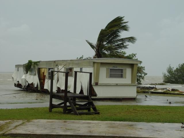 2005's Hurricane Katrina's Impact on Flamingo Lodge & Marina, Everglades National Park