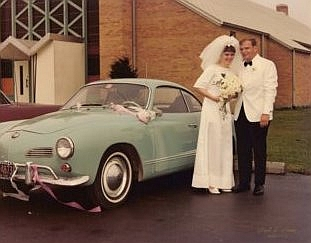 The Parents on their Wedding Day, 1967