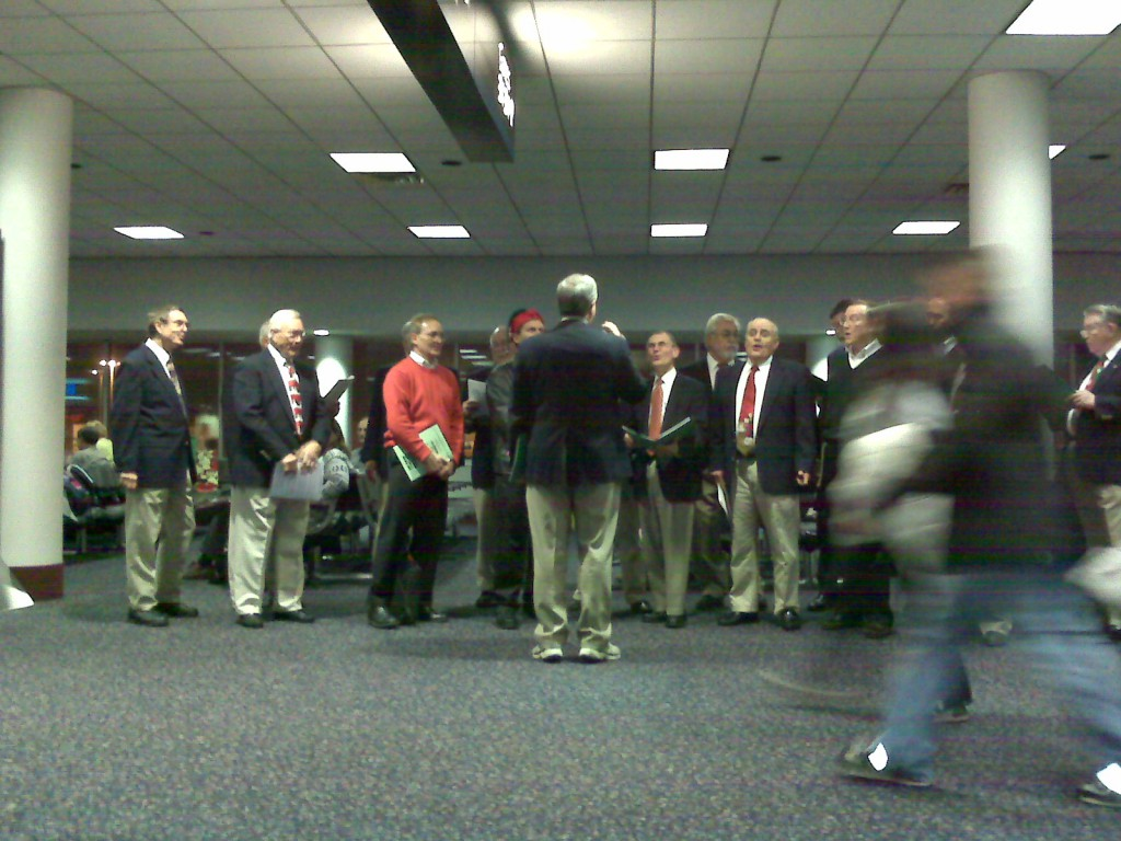Christmas Carolers, Charlotte Douglas International Airport, Dec. 2007