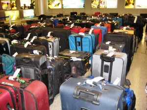 Joys of Holiday Travel - Delayed Luggage