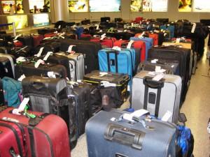 Joys of Holiday Travel - Delayed Luggage