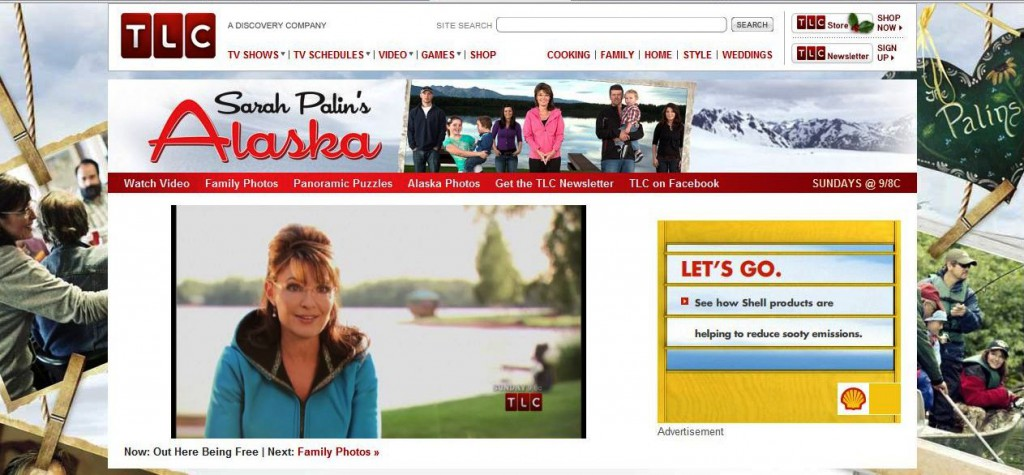 Sarah Palin's Alaska Premiered Nov. 14, 2010, on TLC