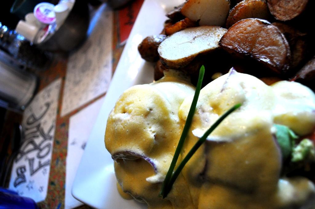 Breakfast at Blue Fox Cafe, Victoria, B.C.