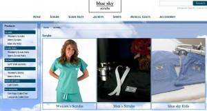Fab Nurse Scrubs on BlueSkyScrubs.com