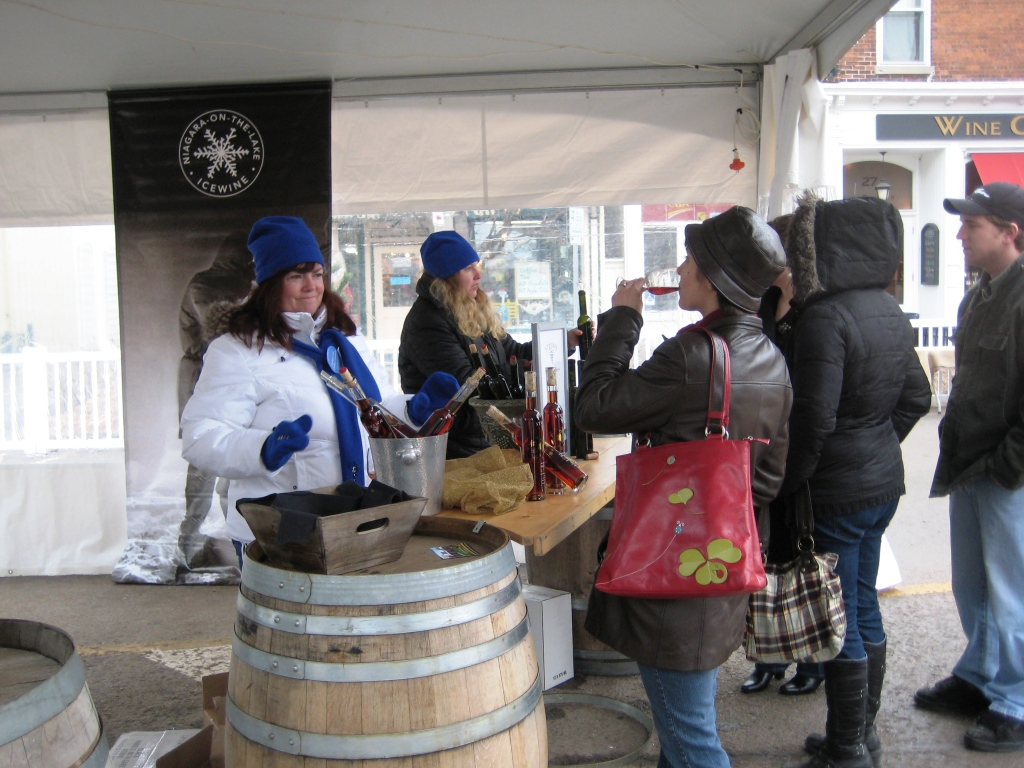 Niagara-on-the-Lake Village, Icewine Festival 2010