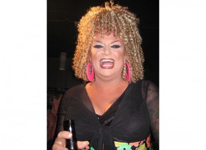 Key West Drag Queen at Aqua