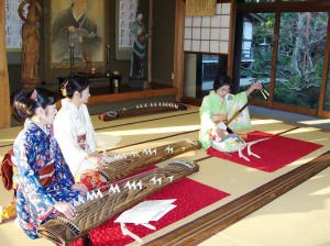 Learning to Play the Koto in Japan