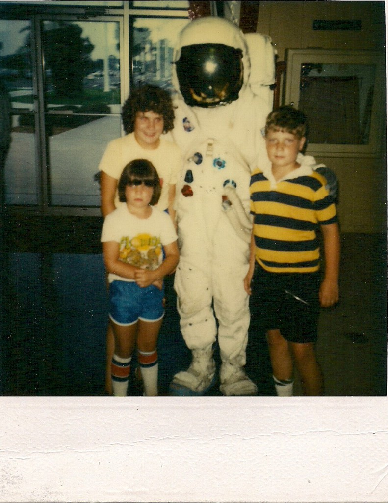 Me with My Younger Siblings, NASA's Kennedy Space Center, July 1981