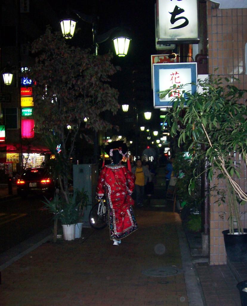 Drag-Geisha in Tokyo