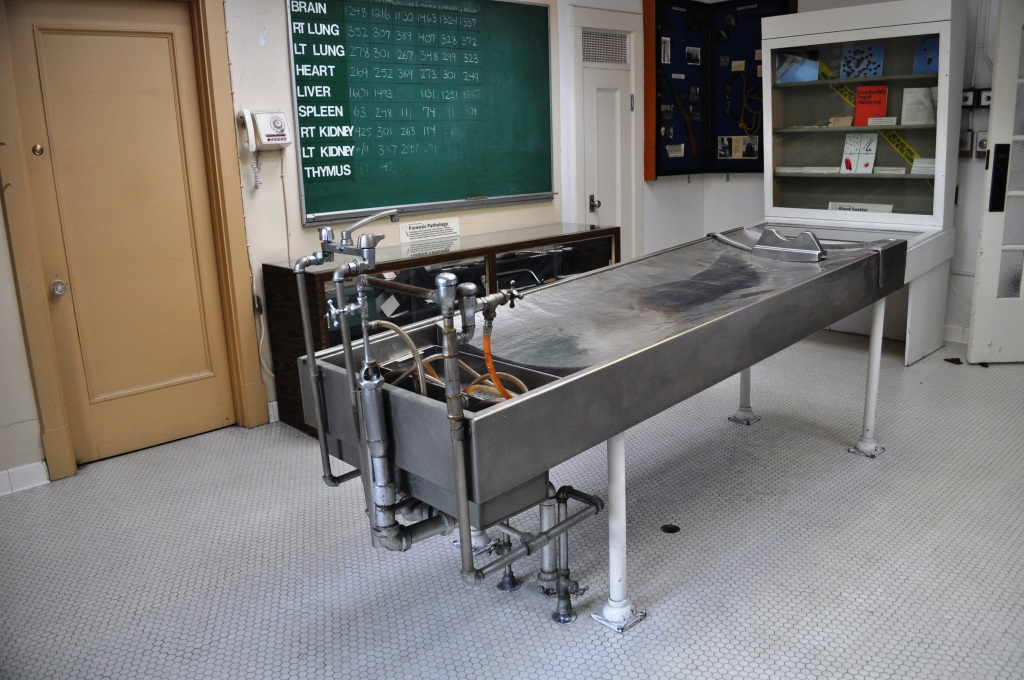 Autopsy Lab at the Vancovuer Police Museum, B.C.