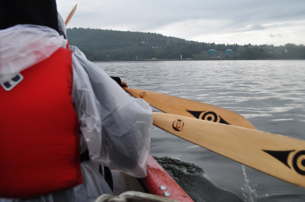 Paddling with Takaya Tours, Vancouver, B.C.