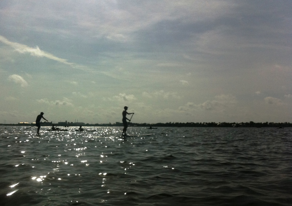 Charlotte Harbor Freedom Swim Stand-Up Paddleboarders, July 4, 2011