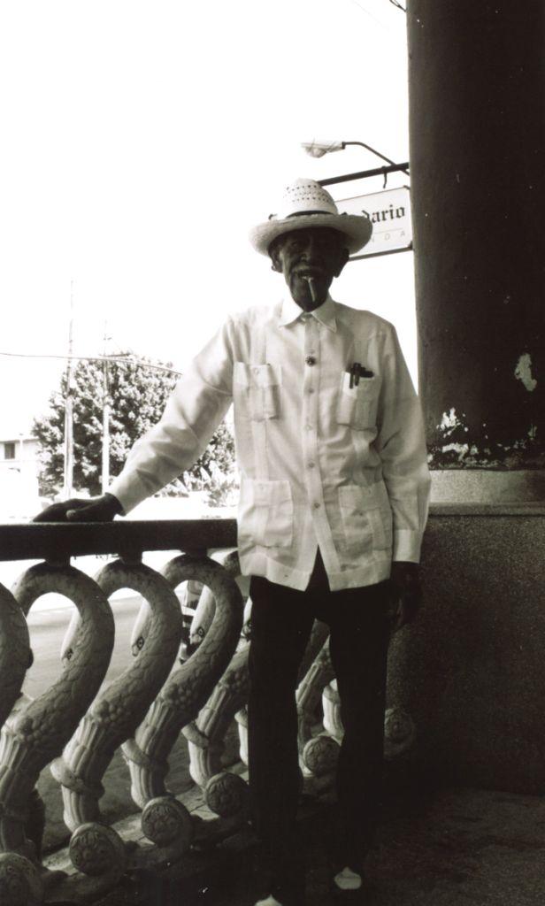 Man with Cigar in Havana, Cuba, Dec. 2003