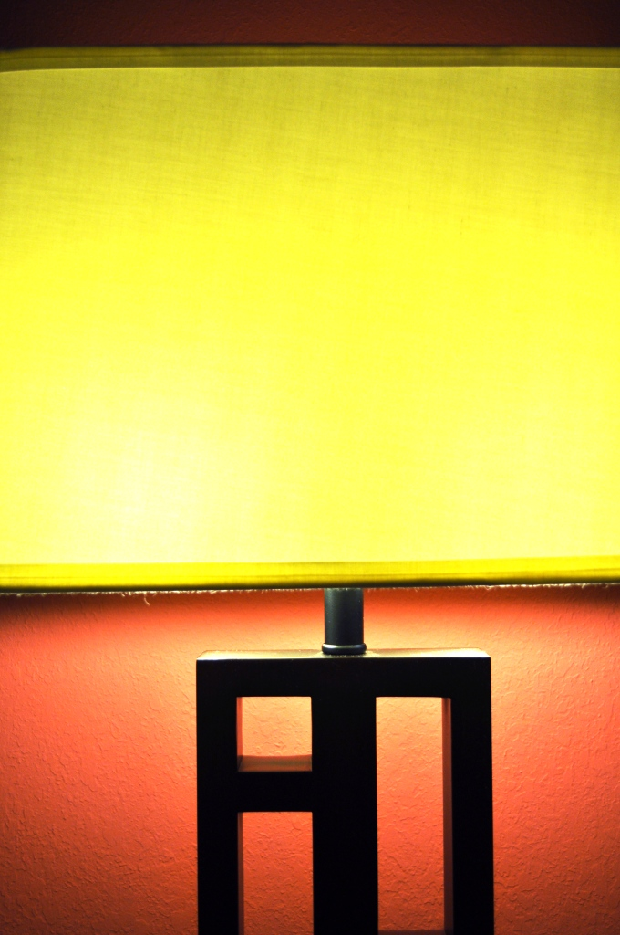 Lamp Next to My Bed at the Holiday Inn Titusville - Kennedy Space Center