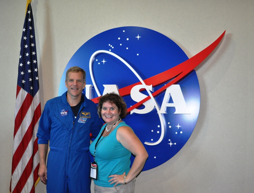 Space Shuttle Astronaut Dr. Scott Parazynski and Me Following Lunch with an Astronaut