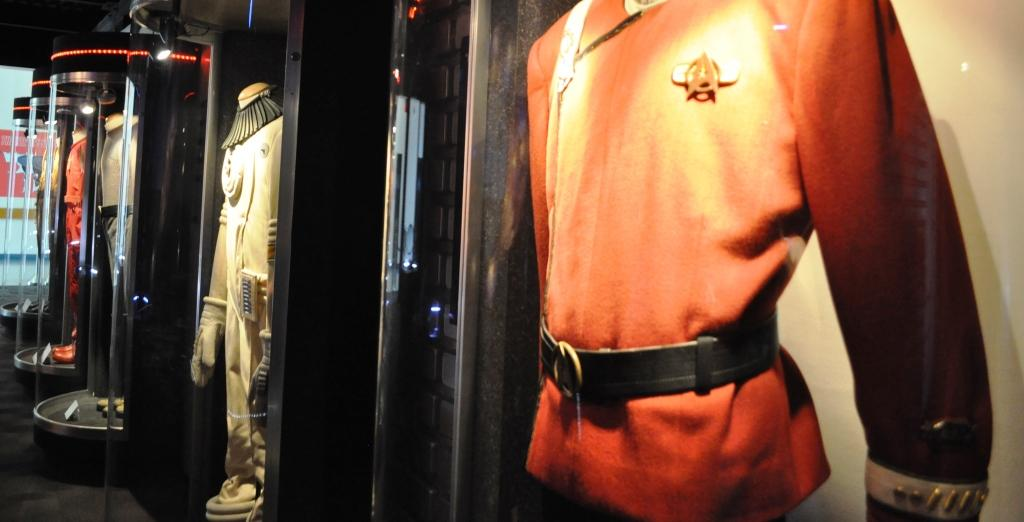 Costumes on Display, Star Trek: The Exhibition at Kennedy Space Center Visitor Complex, Fla.