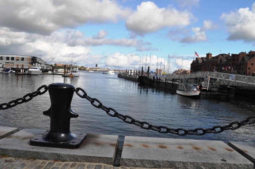 Boston Waterfront, Oct. 2011