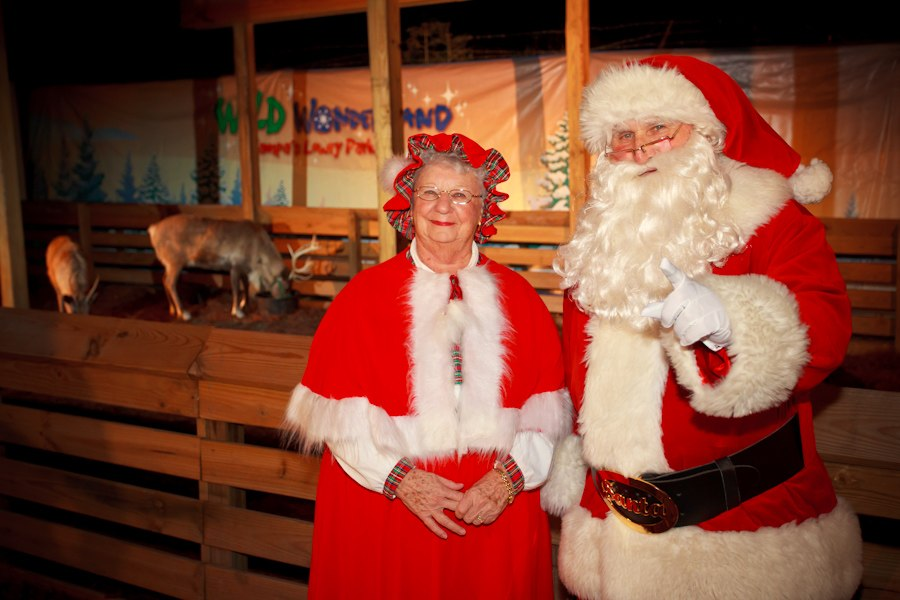 "See Santa and Mrs. Claus Along with Reindeer During Lowry Park Zoo's ""Wild Wonderland"""