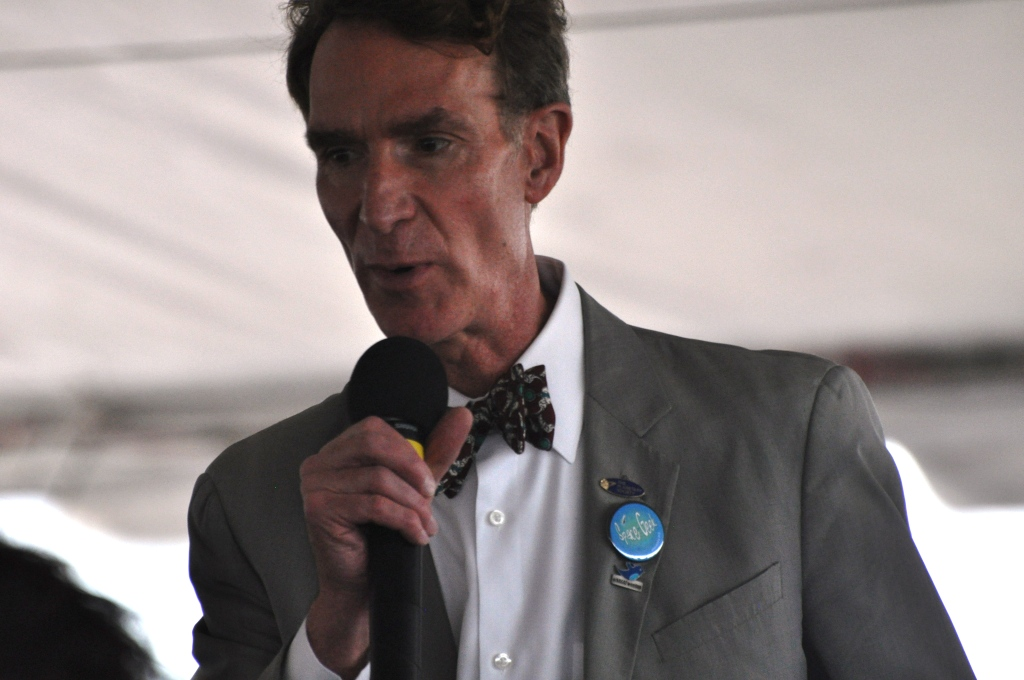 Bill Nye the Science Guy Talks About Science's Cool Factor, Kennedy Space Center, Fla., Nov. 26, 2011