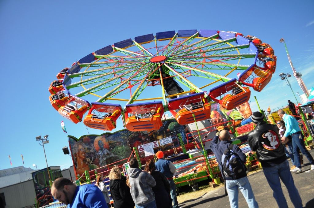 One of Those Wild Rides I Won't Step Foot On, Florida State Fair in Tampa