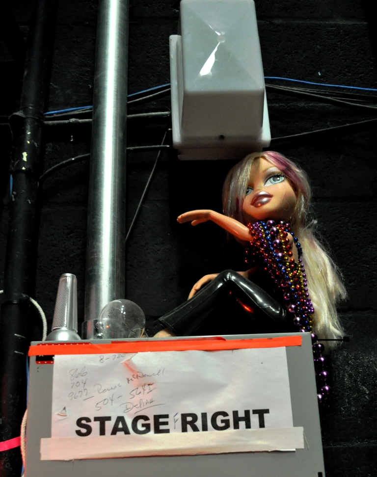 One of Three Dolls I Spotted Chilling Around the Van Wezel's Backstage, Sarasota, Fla.