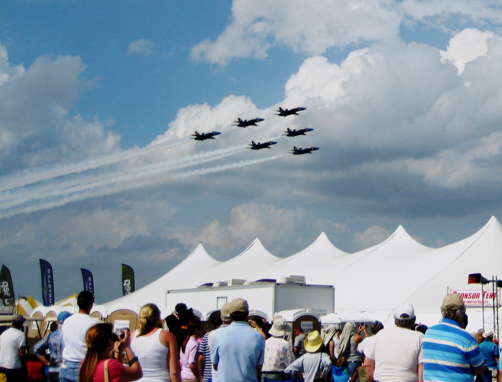 U.S. Navy Blue Angels Last Performed at the Florida International Air Show in 2009
