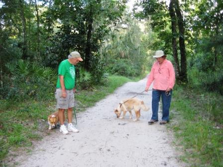 On the Trail with Lucy Tobias in Ocala, Fla.