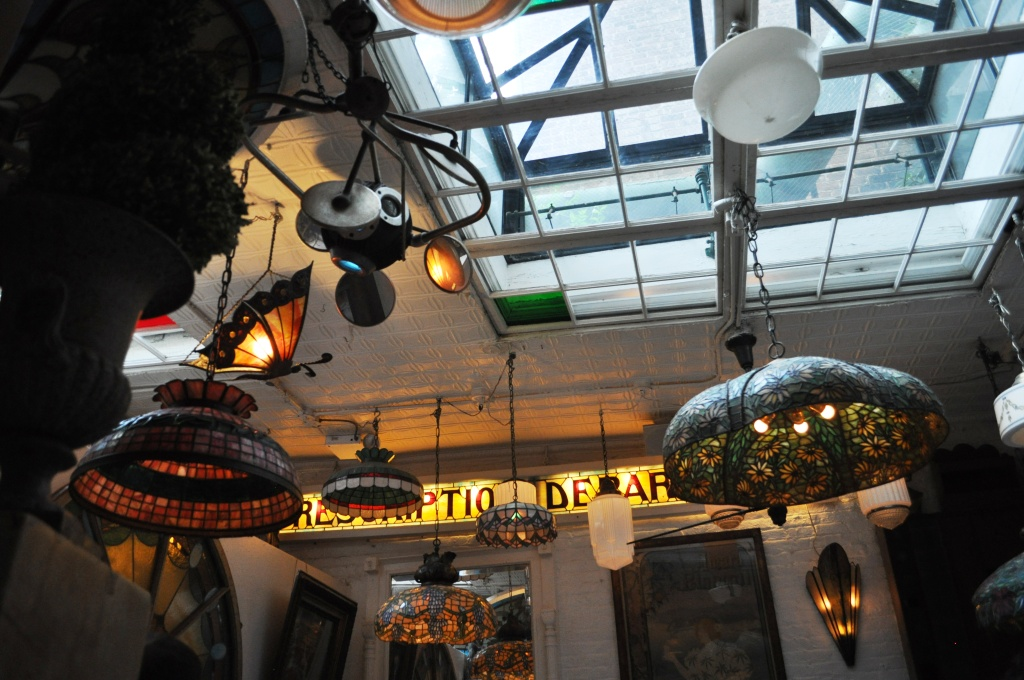 Ecletic Decor in Serendipity 3, New York City