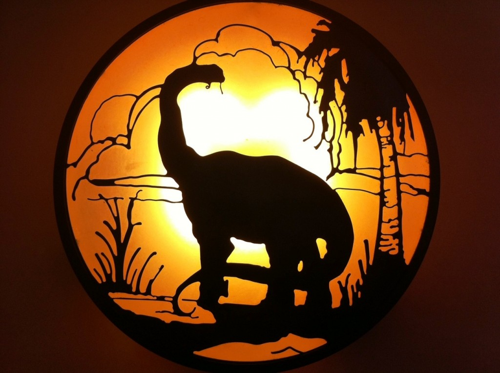 I'd Love One of these Light Shades from the Jurassic Park Section