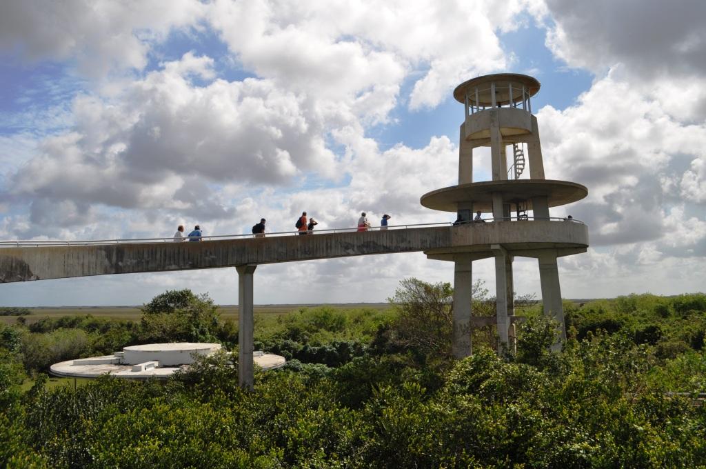 Shark Valley Tower, Everglades National Park, Fla.