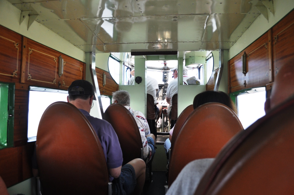 1929 Ford Tri-Motor's Cabin Accommodates 9 with Spacious Leg Room