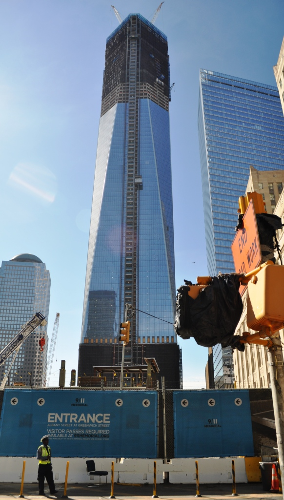 New World Trade Center Building, April 17, 2012