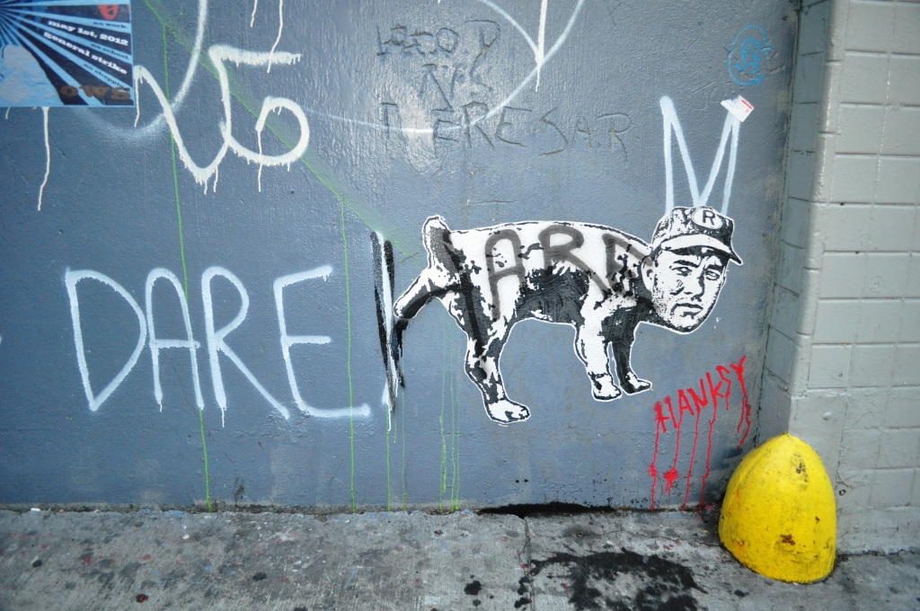 New York City Street Art, April 17, 2012