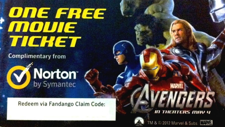 The Avengers! Thanks Norton by Symantec.