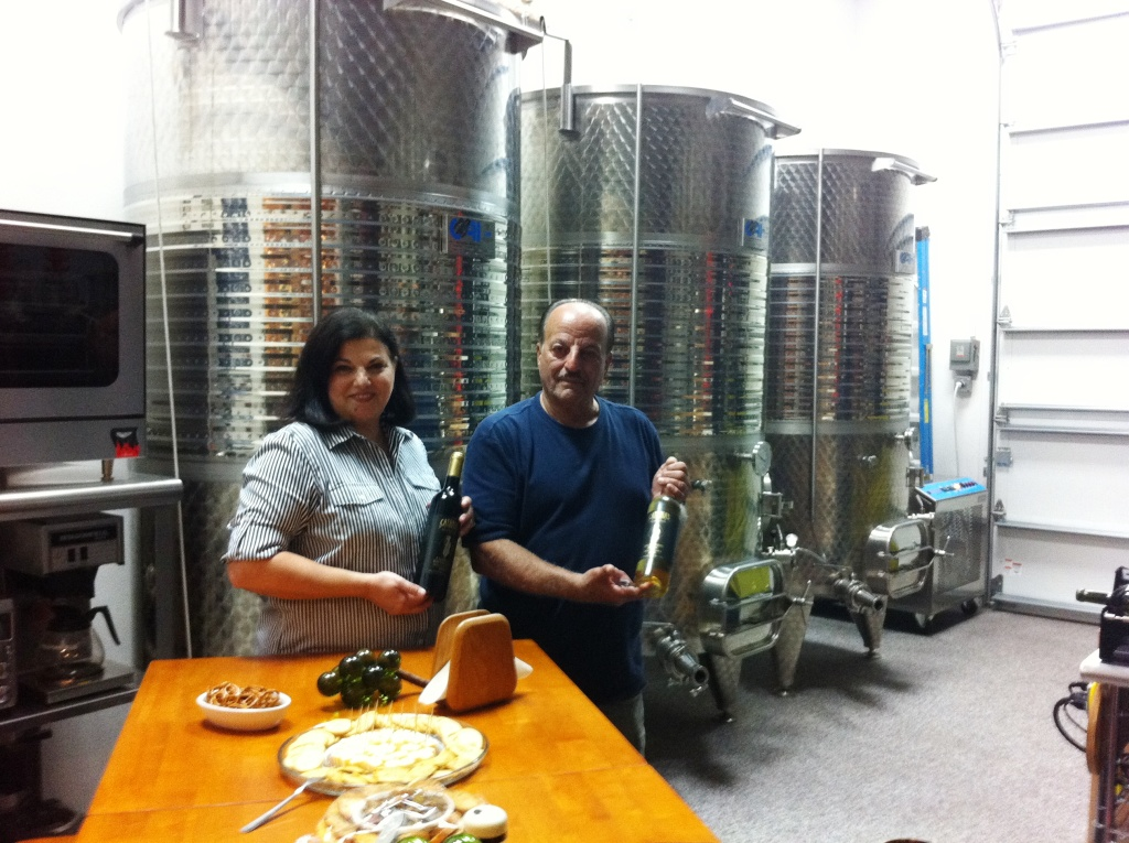 Margherita and John Catania Opened Catania's Winery in Englewood, Fla., to the Public in Aug. 2011