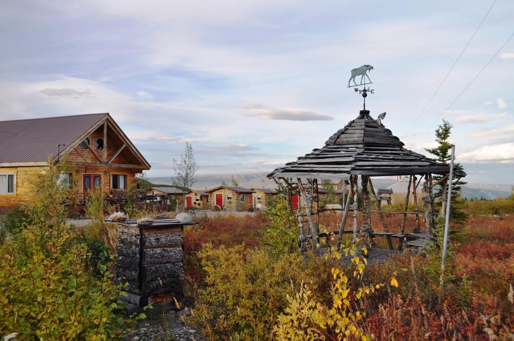Cabins at EarthSong Lodge Near Denali National Park