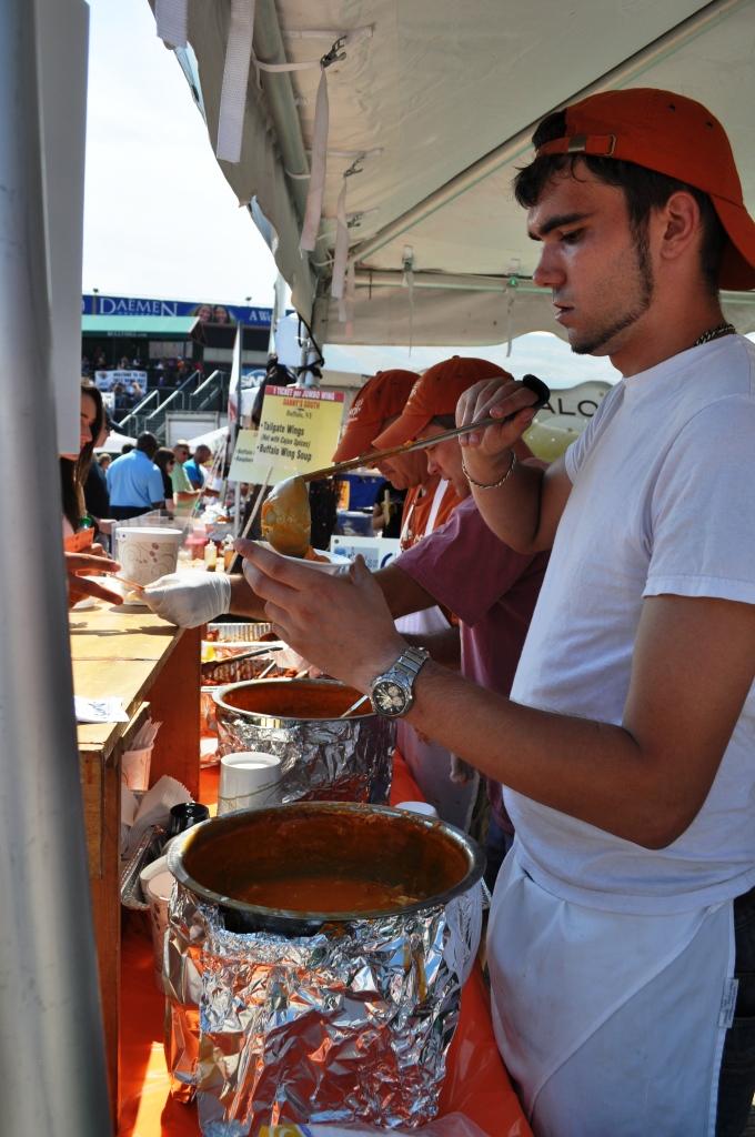 Slurp! Buffalo Chicken Wing Soup from Danny's.