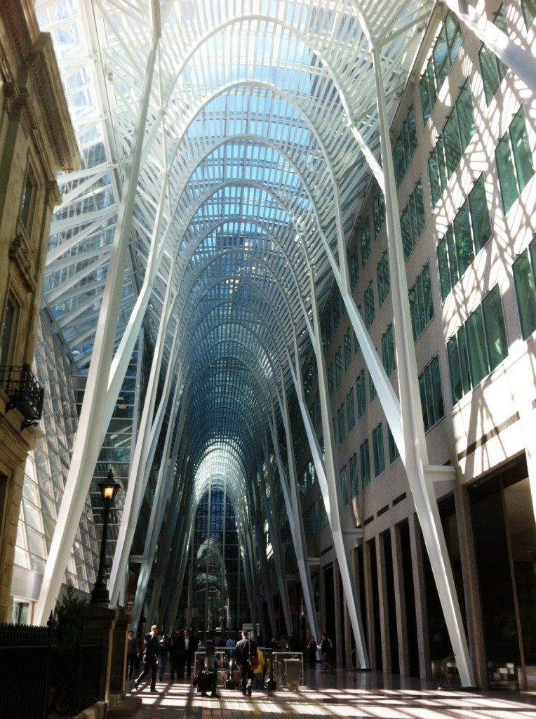 Inside the Amazing Brookfield Place, Toronto