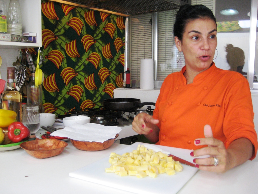 Chef Simone Almeida, Owner and Instructor of Cook in Rio