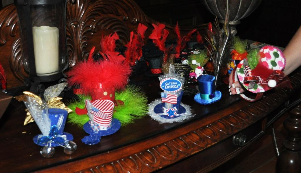 Retro Fun Fascinators by Taffy Retta
