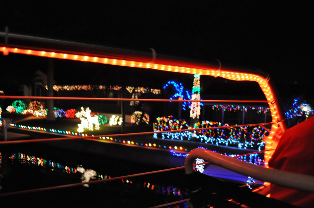 Ooooh! Pretty Lights in Punta Gorda, Fla.