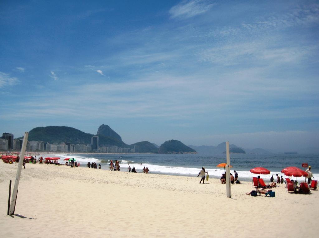 Sunday Afternoon on Copacabana Beach, Rio de Janeiro, Brazil